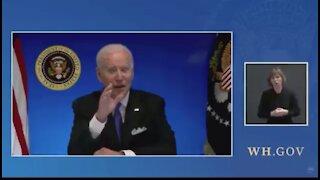 Joe Biden takes questions