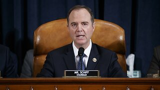 Schiff: Impeachment Report To Come After Thanksgiving Recess