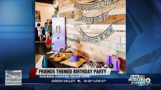 Tucson teen surprised with a 'Friends' birthday party