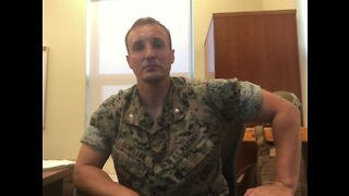 Marine Who Spoke Out Against Leaders Jailed Before Hearing