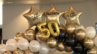 McCarran Airport celebrates 50 million passengers