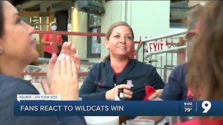 Fans celebrate Women's Basketball while supporting local