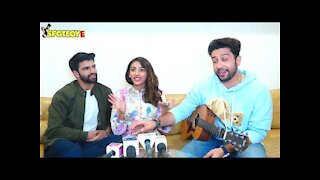 Adhyayan Suman, Karan lall & Mallaikaa speak about their single 'Peg Daariya' | SpotboyE