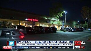 Mask dispute in yogurt shop goes viral