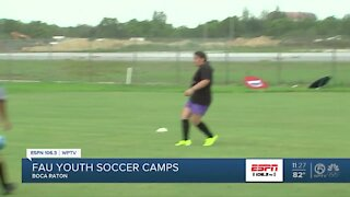 FAU soccer starts youth summer camps