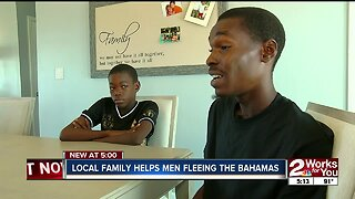 Local Family Helps Men Fleeing the Bahamas