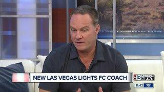 Las Vegas Lights FC New Coach
