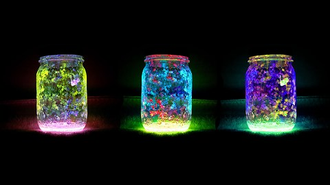 How to make a long-lasting fairy jar