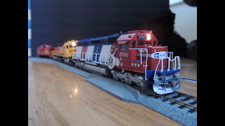 Model Trains Running Complation 2