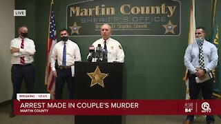 NEWS CONFERENCE: Handyman arrested after couple killed in Martin County