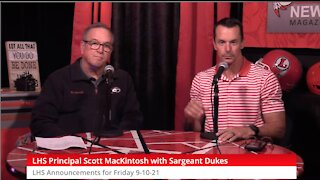 LHS News Special Guest: Master Sargent David Dukes