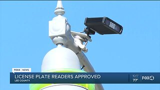 License plate readers approved Lee County