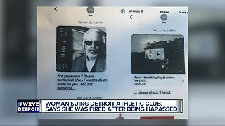 Woman suing Detroit Athletic Club, says she was fired after being harassed