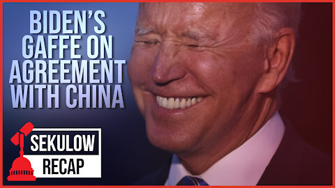 Biden Urges China to Adhere to Agreement They Didn't Enter