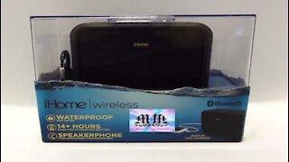 iHome Wireless Bluetooth Speaker