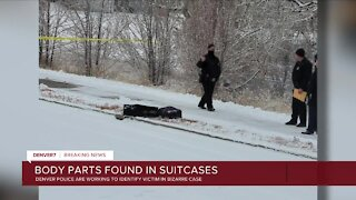 Investigation underway after man's remains found in suitcases near trail in Denver