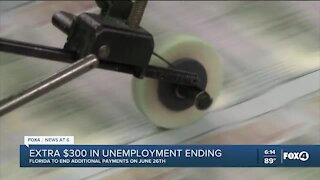 Federal unemployment boost ending