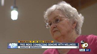 Free Lyft rides connecting San Diego seniors to wellness