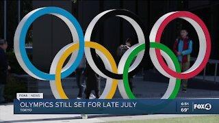 Olympics moving ahead