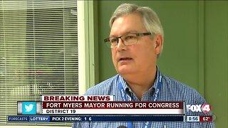 Fort Myers mayor Randy Henderson announces Congress bid