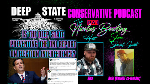 Deep State sandbagging DNI report on election interference?