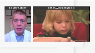 Dr. Jeff Pothof discusses vaccines, coronavirus concerns