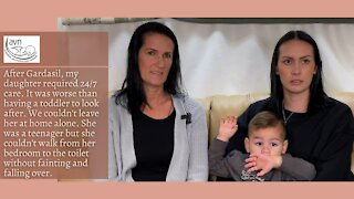 Vaxxed Down Under - Kirsty and Corey Bell
