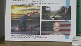 Veteran who lost his legs in Iraq comes to Meridian to teach yoga
