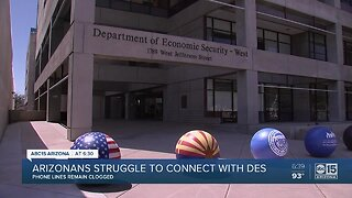 Arizonans struggle to connect with DES