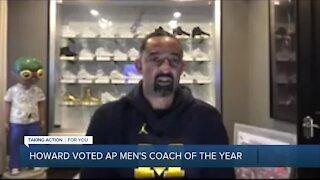 Juwan Howard voted AP men's basketball coach of the year