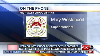 Kern County School Districts extend school closures until May