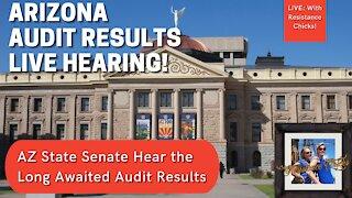 Arizona Senate Hears Audit Results