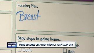 "Western New York gets its first ""baby-friendly"" hospital designations"