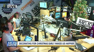 Mojo in the Morning: Decorating for Christmas early