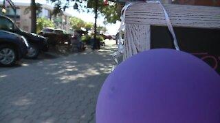 Dunedin paints the town purple to raise money for the Alzheimer's Association of Florida