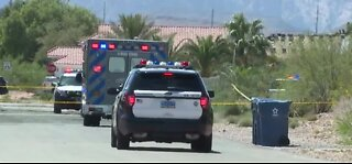 Man dead after shooting at woman