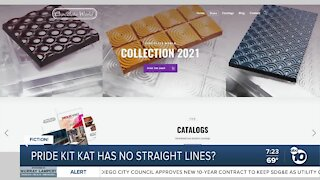 Pride Month Kit Kat chocolate bar?