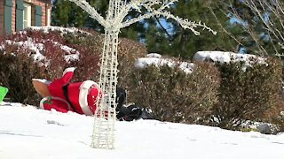 Christmas decorations vandalized on several Castle Pines homes
