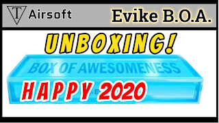 Unboxing Evike Box of Awesomeness Flash Happy 2020 Airsoft Mystery Box