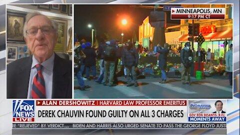 Alan Dershowitz Warns of the Dangers of Jury Intimidation