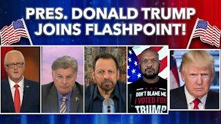 FlashPoint: President Donald Trump, David Harris Jr., Mario Murillo, Lance Wallnau and more!