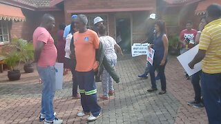 SOUTH AFRICA - Durban - Hopeville Primary School protest (Videos) (HC3)