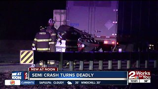 Semi crash turns deadly