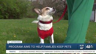 Program aims to help families keep pets