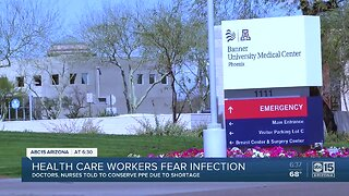 Health care workers fear infection due to lack of safety equipment