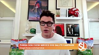 Bobby Bones talks about the Purina Dog Chow Service Dog Salute Campaign