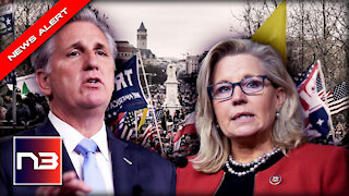 Kevin McCarthy REACTS after Nancy Pelosi Taps Liz Cheney to Join January 6th Committee