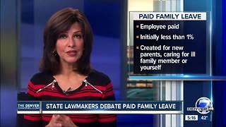 Colorado lawmakers debate paid family leave measure