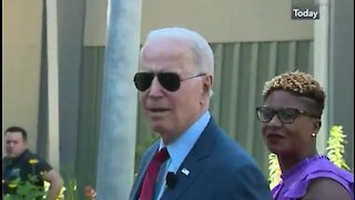 Handlers Quickly Usher Confused Biden Away from Press