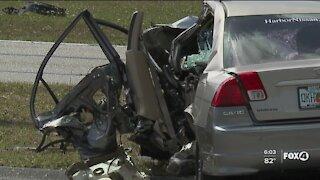 Crash investigation in Cape Coral